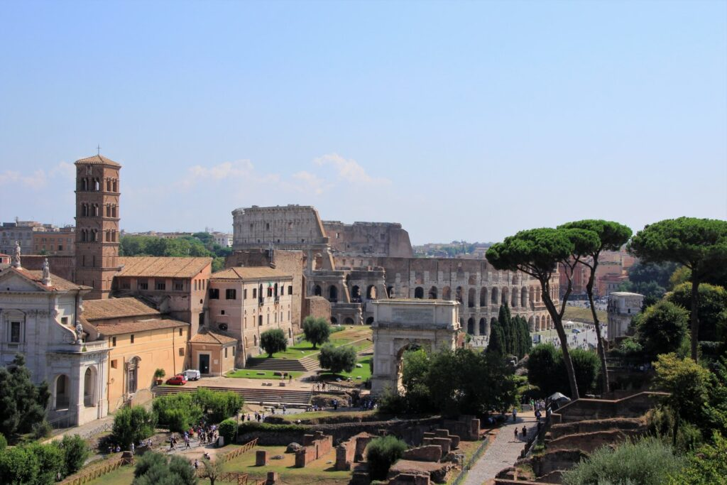 Colosseum and Roman Forum