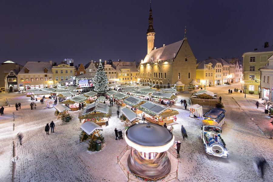 magic of christmas in tallinn